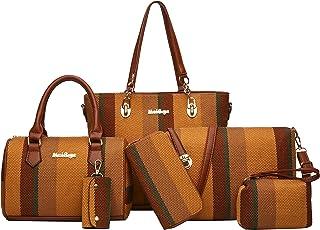 2E-youth Designer Purses and Handbags for Women Satchel Shoulder Bag Tote Top Handle Bag