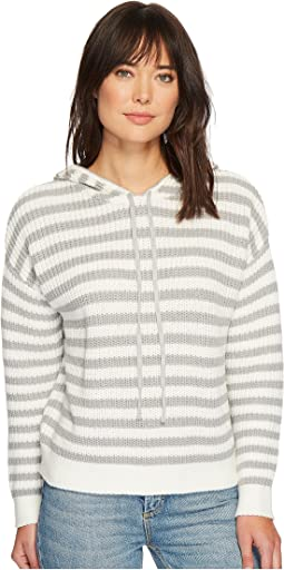 Sanctuary - Harlowe Stripe Hoodie Sweater