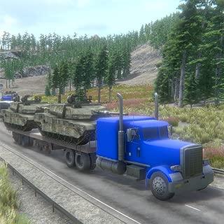 War Tank Transporter Truck Simulation Game 3D
