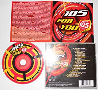 105 FOR YOU Eiffel 65/Britney Spears/Placebo/Coldplay... (2001) - CD..