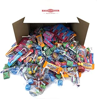 LaetaFood Pack, Favorite Candy Assortment - Jolly Rancher Pops, Wonka Laffy Taffy, SweeTarts, Nerds Mini Box, Brach's Candy, Gobstopper, Primrose Blue Mints, Ferrara Now Later Chews (10 Pound Bulk)