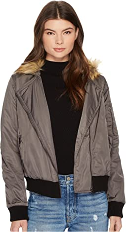 Powell Faux Fur Hooded Jacket