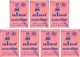 French Baking Powder Alsa 7 pouches(0.38 oz)