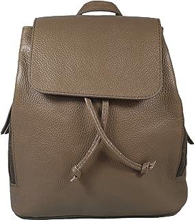 Ital. Echtleder Damen Rucksack Leichter Tagesrucksack Daypack Lederrucksack Damenrucksack versch. Farben erhältlich R01