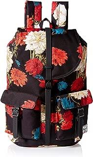 Herschel Dawson Backpack, Vintage Floral Black, One Size