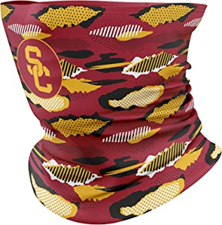 Top of the World NCAA Unisex Multipurpose Neck Gaiter Scarf Urban Team Color Camo Icon