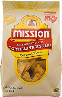 Mission Foods Mission Foods Extreme Cheese Corn Chips 230 g, 230 g