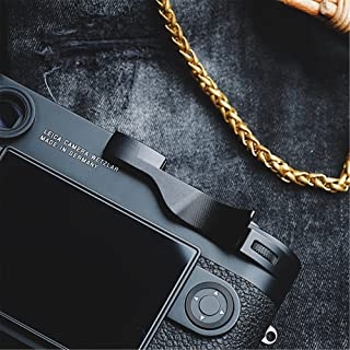 RAYANSPHOTO Thumb Rest Grip with Camera Hot Shoe Cover Black for Leica M10 Mirrorless M10