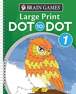 Brain Games - Large Print Dot-To-Dot 1