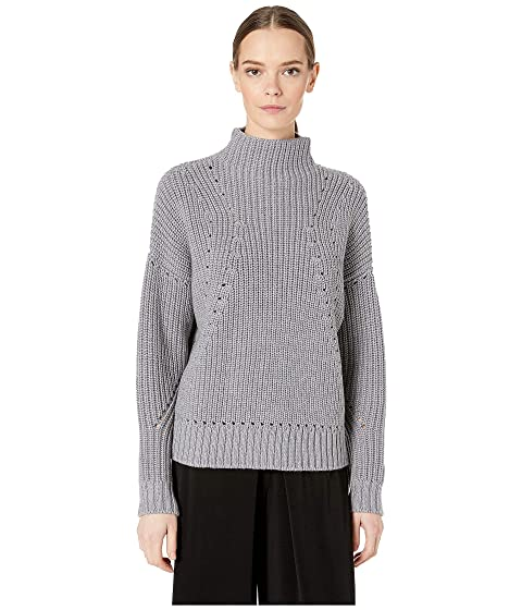 GREY Jason Wu Cashfeelyn Knit Cashfeel Turtleneck Sweater