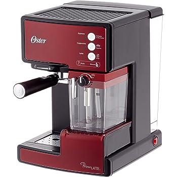 Oster Prima Cafetera automática para Cappuccino, Latte y Espresso con Tratamiento, 1.5 l Agua, 300 ml depósito para Leche, 1238 W, 1 Cups, Acero inoxidable: Amazon.es: Hogar