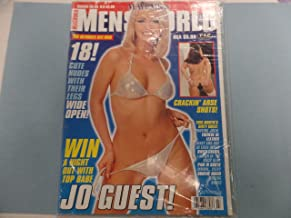Mayfair's Men's World Magazine Jo Geust June 1998 Paul Raymond