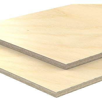 40x130 cm 6mm Sperrholz-Platten Zuschnitt L/änge bis 150cm Birke Multiplex-Platten Zuschnitte Auswahl