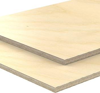 Klasse Industriequalit/ät AUPROTEC 10x A5 Sperrholz-Platten Birke 4mm Multiplexplatten Bastel- und Laubs/äge-Holzplatten Birke Massiv Multiplex Holz 1 148 mm x 210 mm
