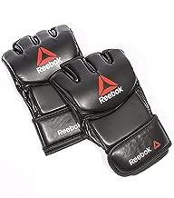 Reebok Unisex Rscb-10430Rdbk Large Gloves For Mma, Black