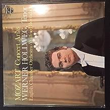 Mozart: Concert Arias / Werner Hollweg, Tenor; English Chamber Orchestra - Wilfried Boettcher