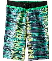 Splash Stripe E-Board Shorts (Little Kids/Big Kids)