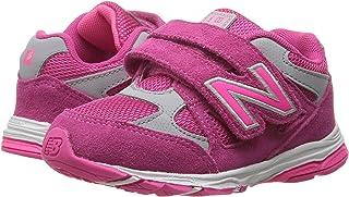 (ニューバランス) New Balance メンズランニングシューズ?スニーカー?靴 KV888v1 (Infant/Toddler) Pink/Grey ピンク/グレー 7 Toddler (14.5cm) XW