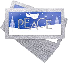 Hallmark Boxed Holiday Cards, Peace Dove (12 Cards and 13 Envelopes)