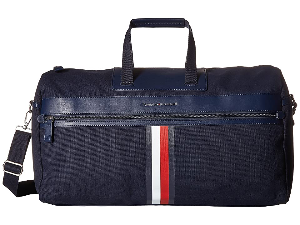 Tommy Hilfiger Icon Duffel Canvas (Tommy Navy) Duffel Bags