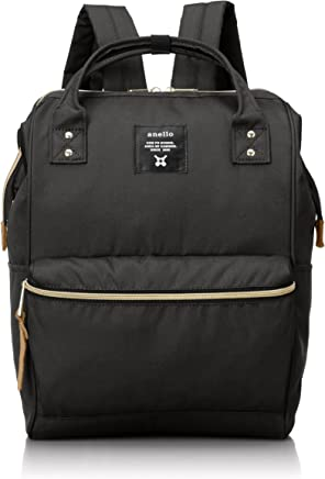 Anello AT-B0193A-BK Polyester Backpack, Large, Black
