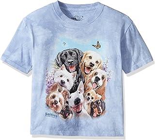 Mountain Selfie Child T Shirt Large