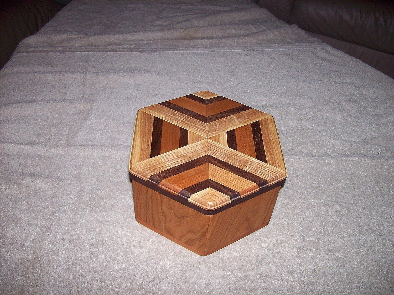 2021 Max 67% OFF model 6-Sided Wood Box