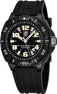 Luminox 0201.SL Men's Black Dial Strap Black Carbon Plastic Watch