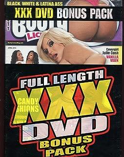 BOOTYLICIOUS April 2012 Julie Cash VANILLA VIXEN Bonus DVD