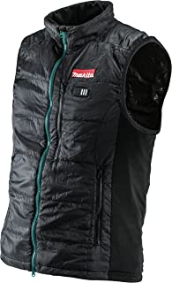 Makita DCV200ZL 18V LXT Lithium-Ion Cordless Heated Vest Only, Large, Black