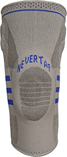 NEVERTAP Best Knee Guard for BJJ, MMA and Grappling. Superior MCL and ACL Protection. Shock Resistant