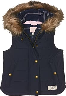 Joules Girls' Alanis Hooded Gilet