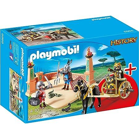 Playmobil 6868 - Gladiatori dell'Antica Roma, Multicolore