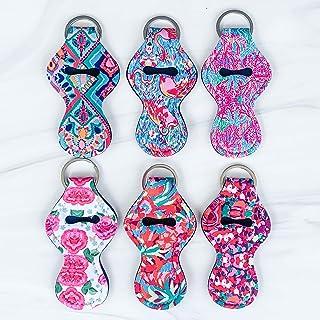 Rainbow Floral Pattern Elephant Guitar Pick Necklace Unique Custom Fashion Pet Card Keychain