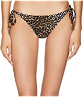 Letarte - Leopard Medium Coverage Tie Side Bottom