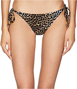 Leopard Medium Coverage Tie Side Bottom