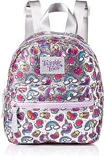 Skechers Twinkle Toes Girls' Little Twinkle Toes Glimmer Backpack, Purple Pink, Youth Size