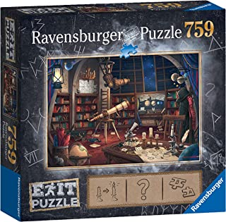 Ravensburger Exit Puzzle – Space Observatory 759pc Mystery Jigsaw Puzzle