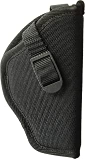 Uncle Mike's Black Kodra Nylon Sidekick Hip Holster (Size 5, Right-Hand)