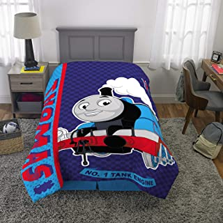 """Franco Kids Bedding Super Soft Microfiber Comforter, Twin Size 64"""" x 86"""", Thomas and Friends"""