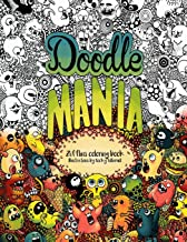 Doodle Mania: Zifflin's Coloring Book (Volume 4)