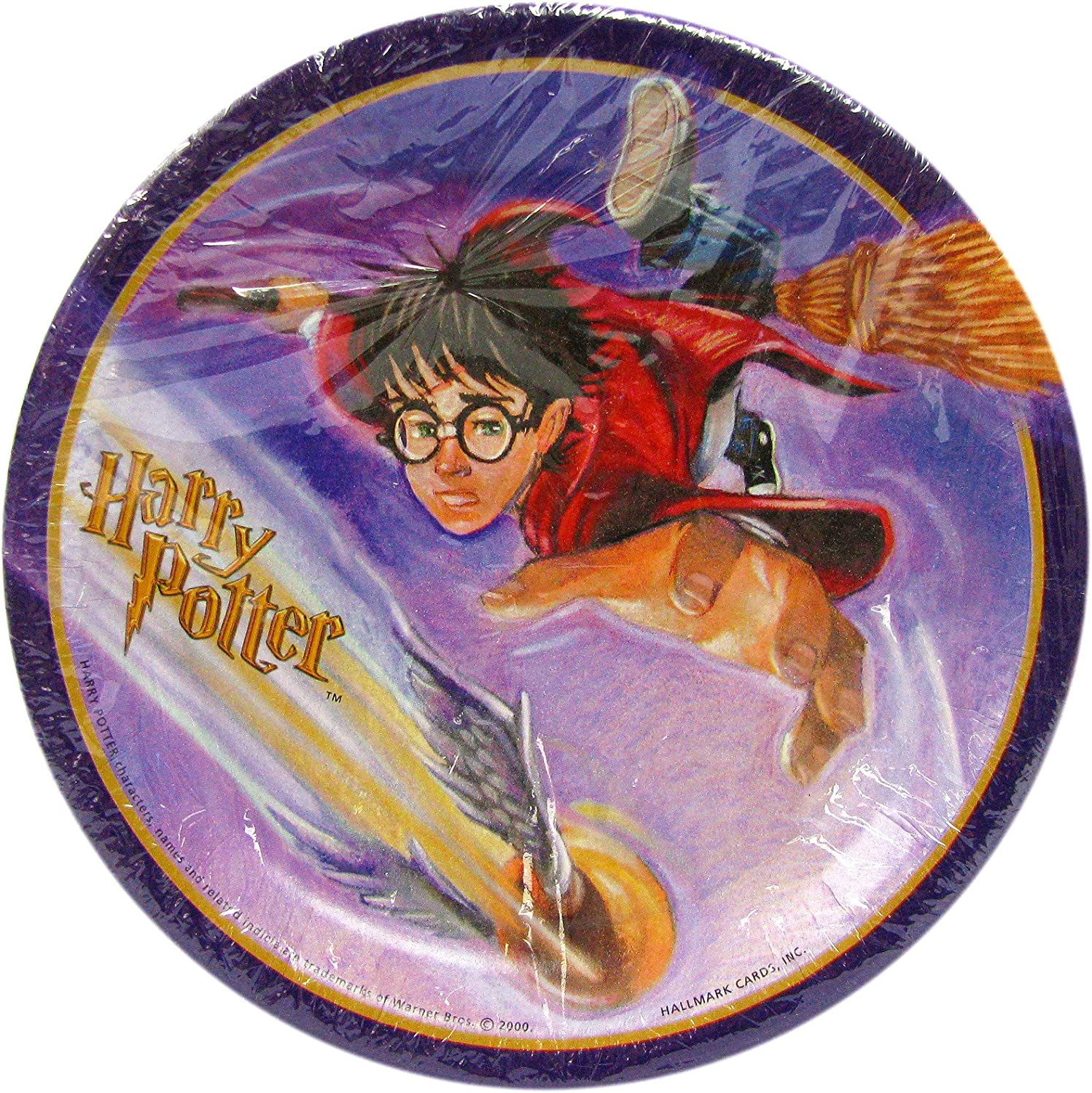 Harry Potter Sorcerer's Stone Seeker Party Plates 6.75