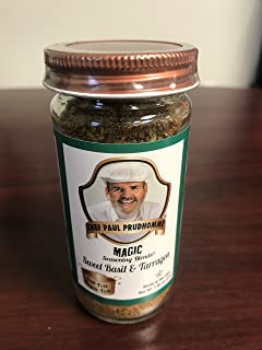 Chef Paul Prudhomme's Magic Seasoning Blends Salt-Free Sugar-Free: Sweet Basil & Tarragon (former Seven Herb), 1.65 ounce