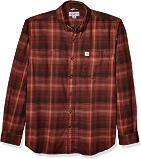 Men's Rugged Flex Hamilton Plaid Flannel Shirt (Regular...