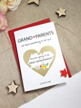 Promoted to great grandparents card for grandparent Pregnancy Announcement PA121