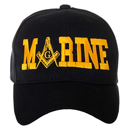 80380a0b8b66b United States Military Masonic Square Compass Embroidered Baseball Cap