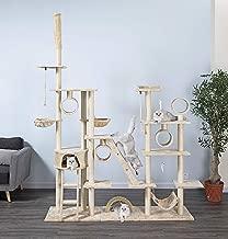 Go Pet Club FC06 Beige Cat Tree Condo Furniture