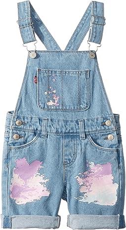 Levi's® Kids Summer Love Shortalls (Little Kids)