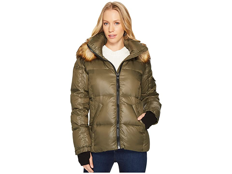S13 Fur Kylie (Military/Natural) Women