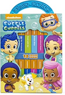 Nickelodeon Bubble Guppies - My First Library Board Book Block 12 Book Set - PI Kids